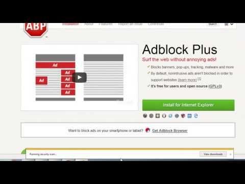 Remove Unwanted POPUp's, Advertisements Adblock plus