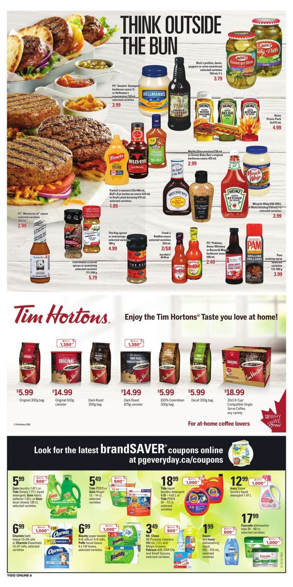 Flyer Independent Grocers (ON) Canada from Thursday May