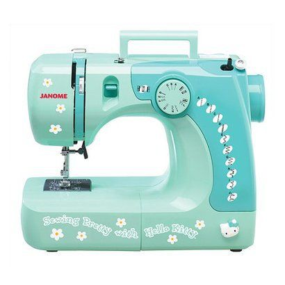 Hello Kitty Sewing Machine. I should have bought this one!