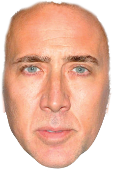 Feeling Cagey A Live Stream Of Instagram Selfies With Cage S Face On Them Fancy Dress Masks Nicolas Cage Fancy Dress