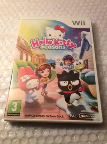Hello #kitty #seasons for #nintendo wii,  View more on the LINK: http://www.zeppy.io/product/gb/2/142278990262/