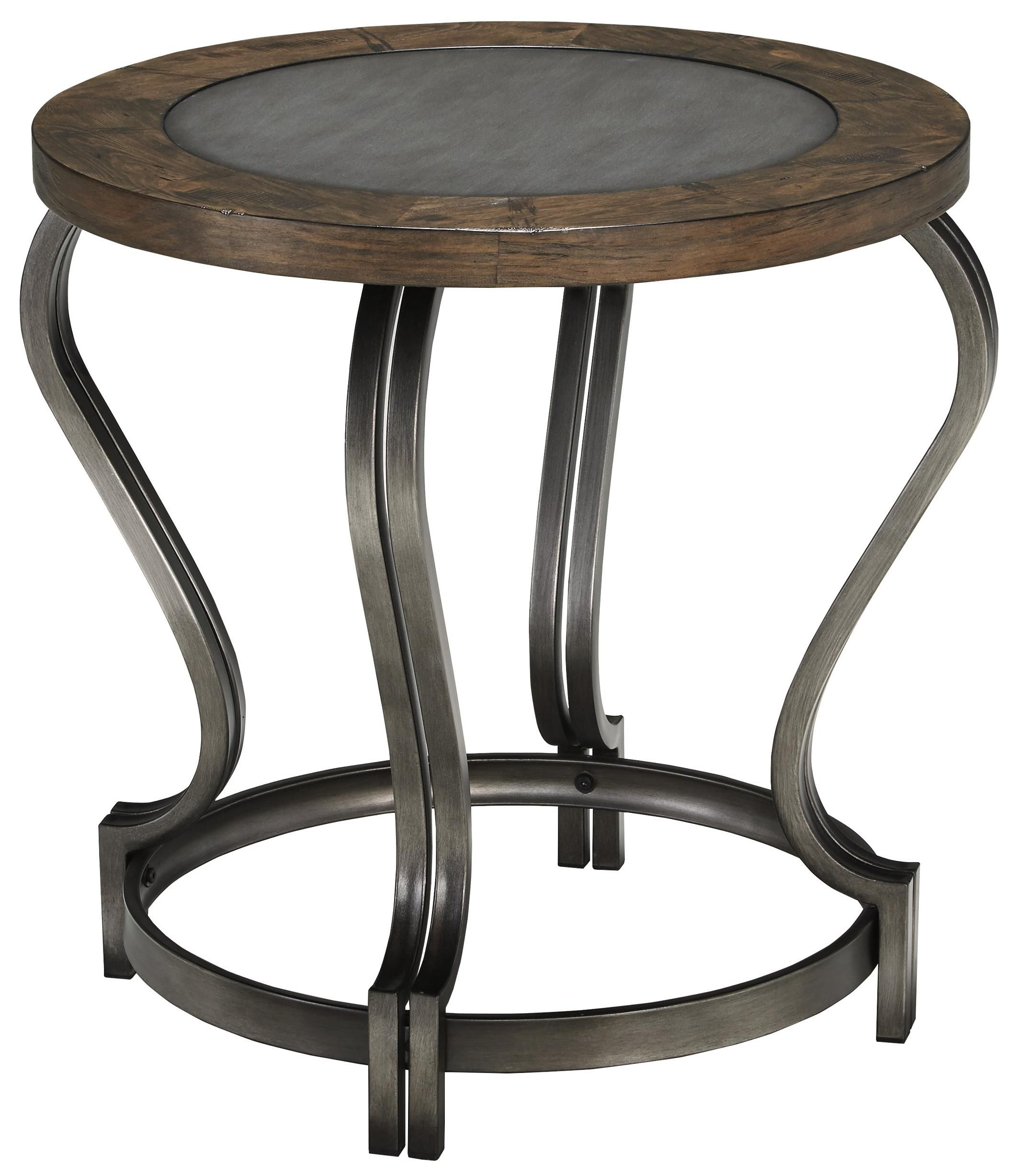 Round End Table Volanta (by Signature Design by Ashley