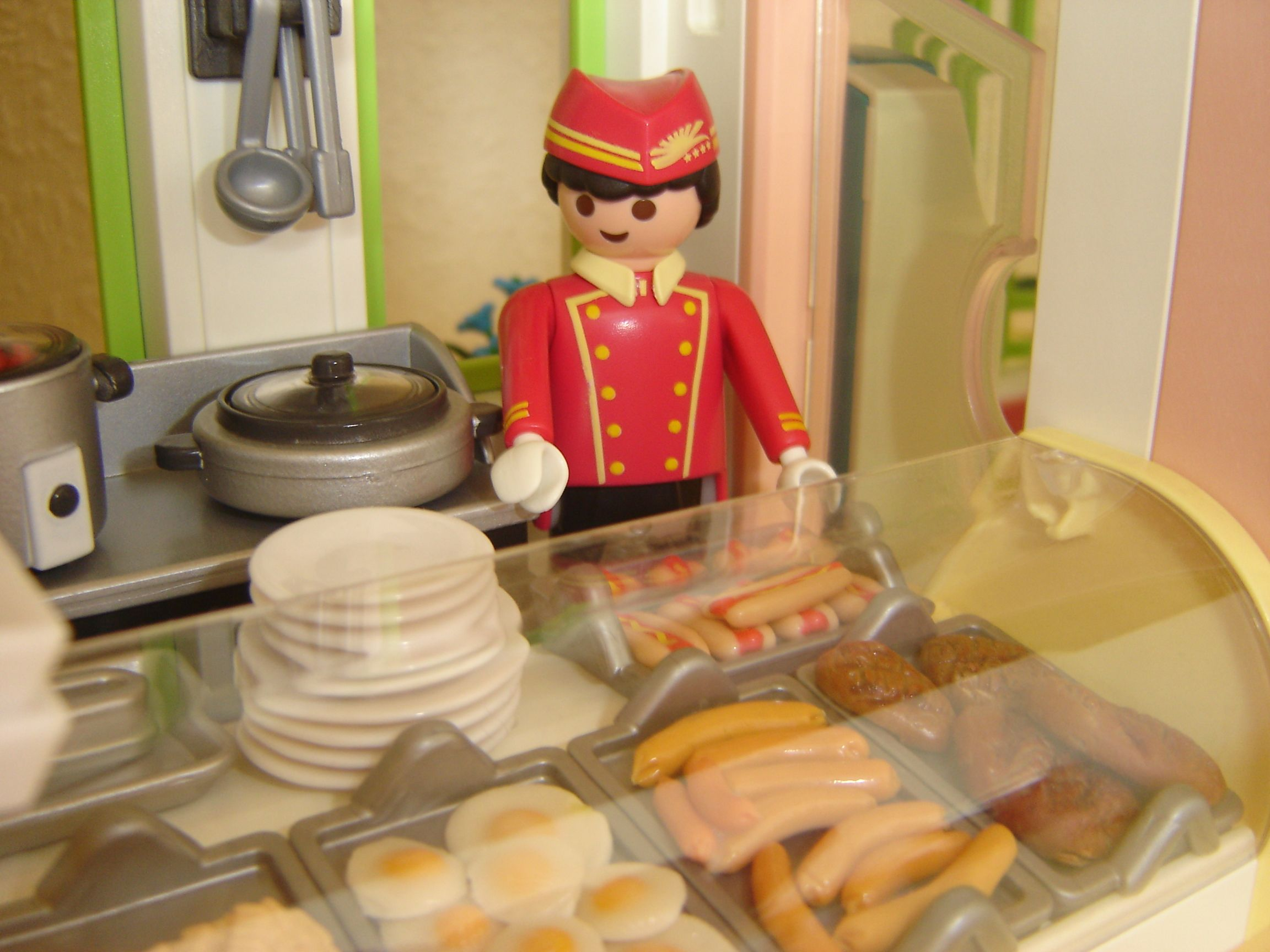 Hot Food Counter Playmobil Meets Sylvanian Families Or Sylvanian