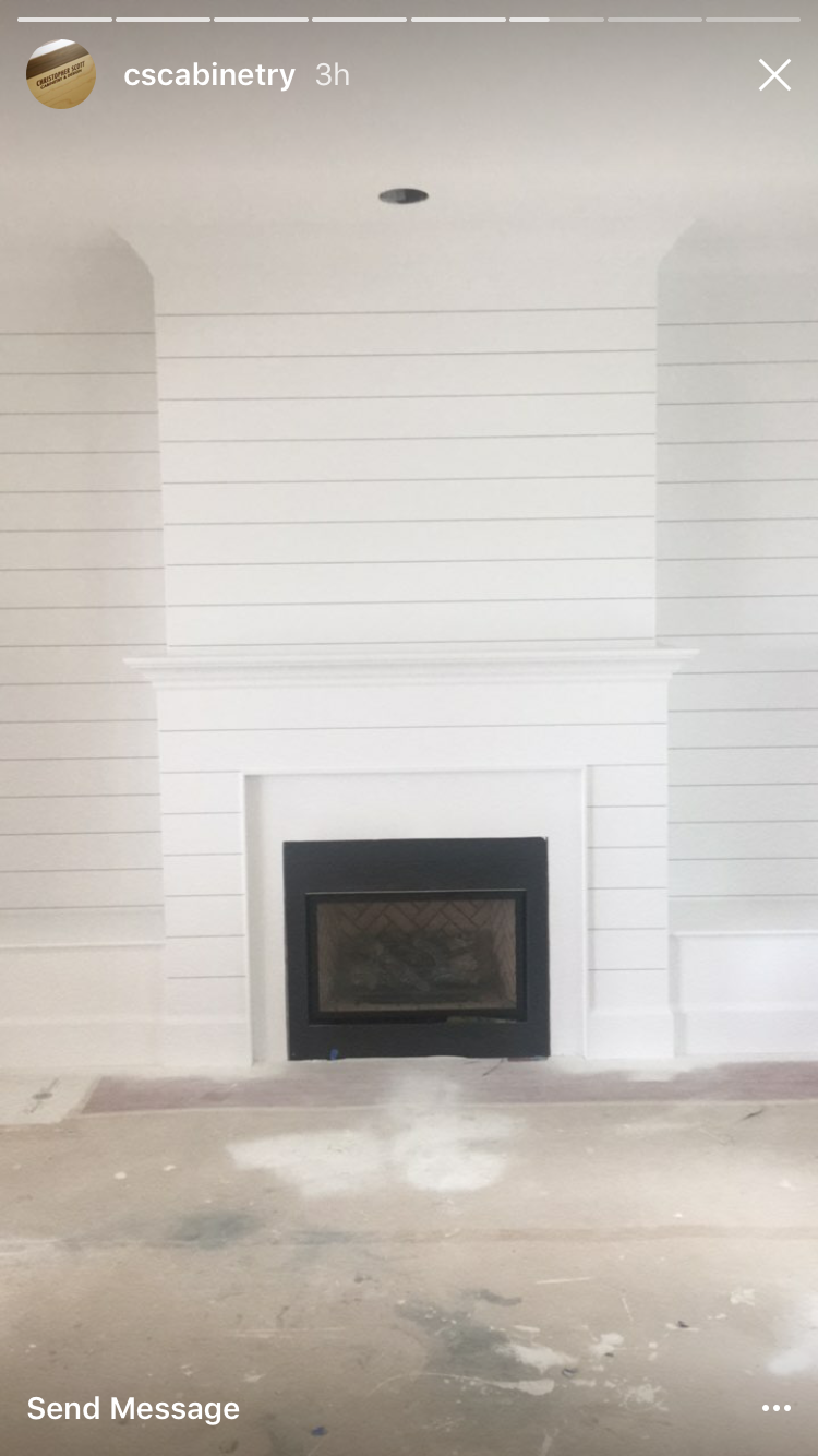 Shiplap Fireplace Family Room Pinterest Shiplap