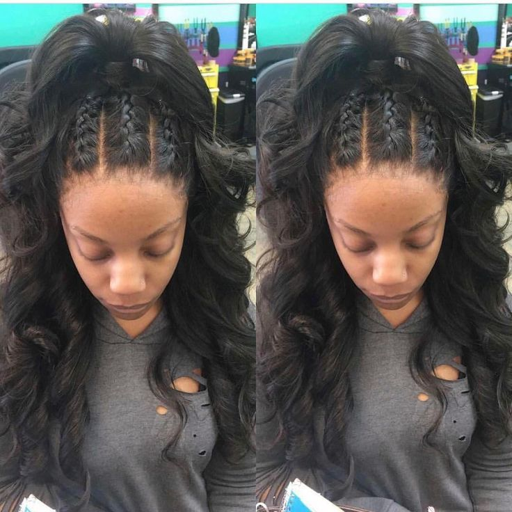 Natural Hair Styles, Frontal