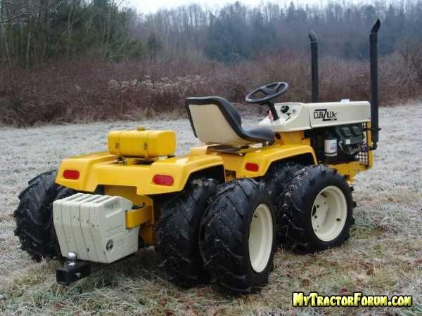 articulated garden tractor MyTractorForum The Friendliest – Articulated Garden Tractor Plans