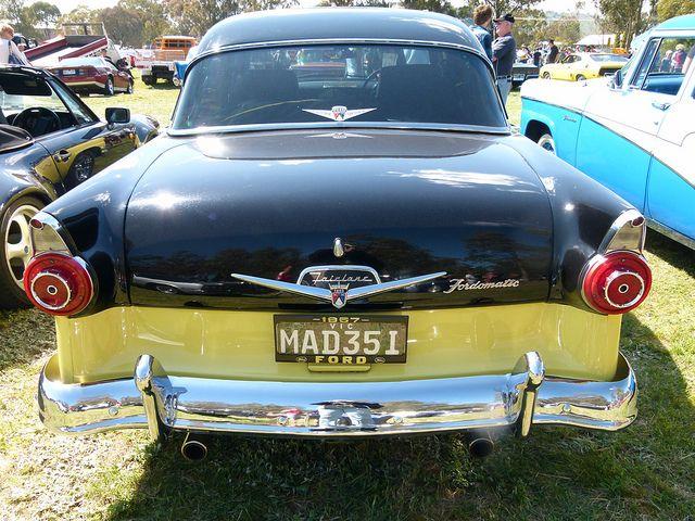 1957 Ford Customline V8 Ford Classic Cars Badge Design