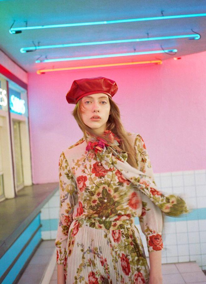 "bienenkiste: ""Odette Pavlova photographed by Tom Craig for Net-a-Porter """