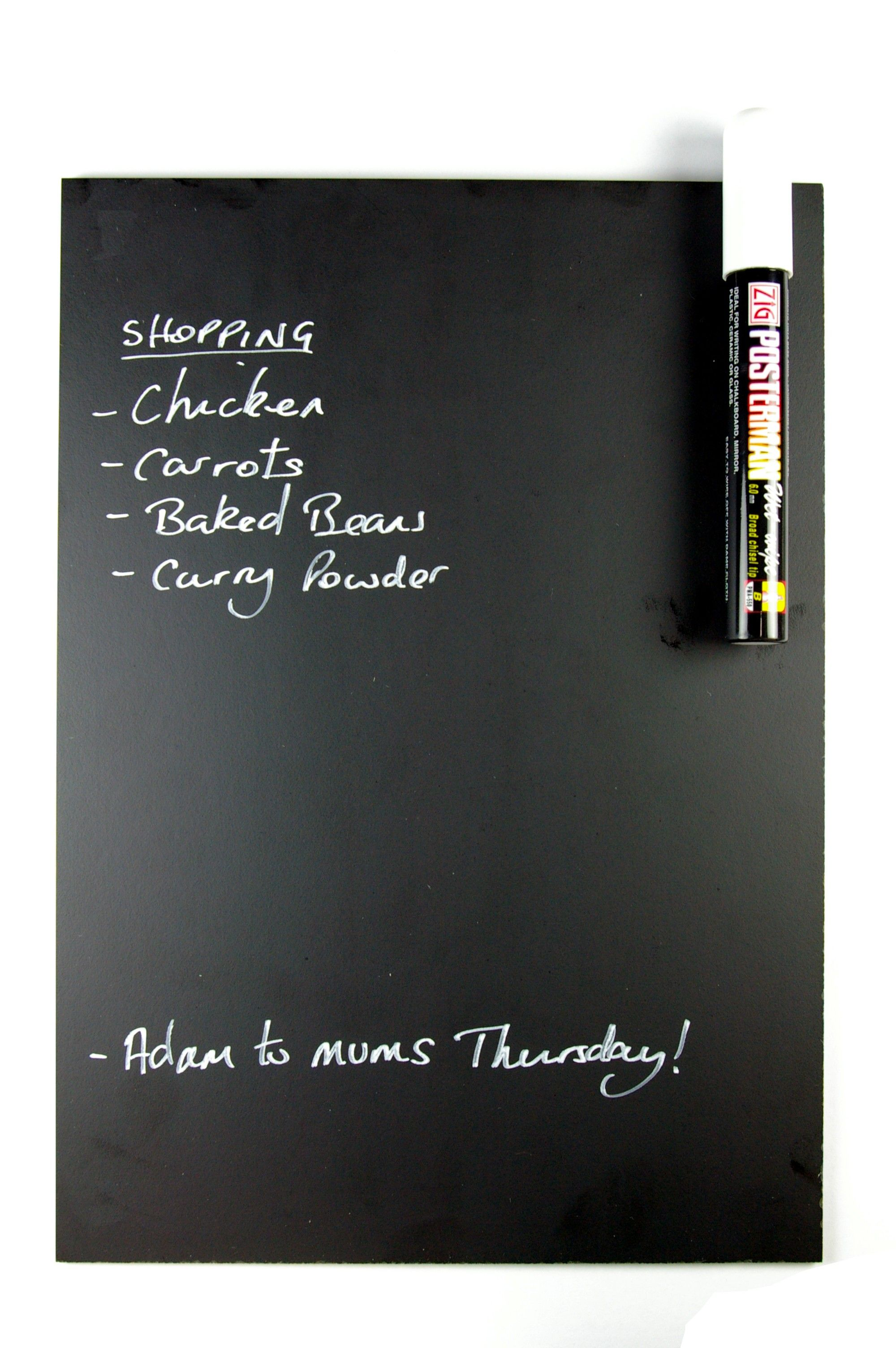 Magnetic Fridge Chalkboard Blackboard With Free Liquid