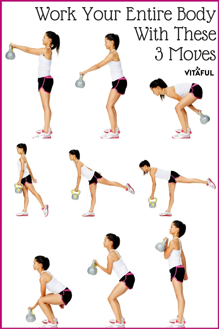 Work All The Core Muscles In Your Body With These Three Kettlebell Workout Moves