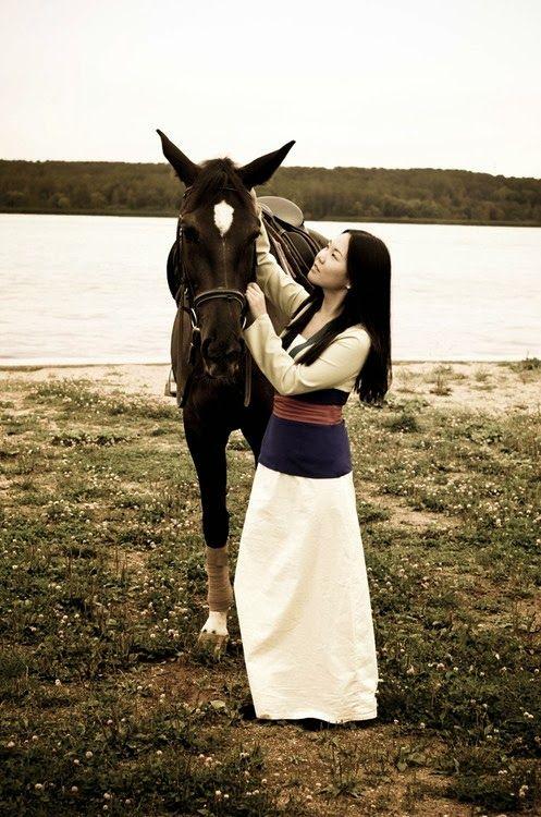 TONS of Mulan costume ideas. | Props | Pinterest