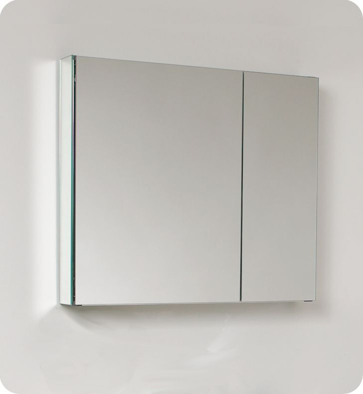 Photography Gallery Sites Fresca Inch Wide Bathroom Medicine Cabinet With Mirrors