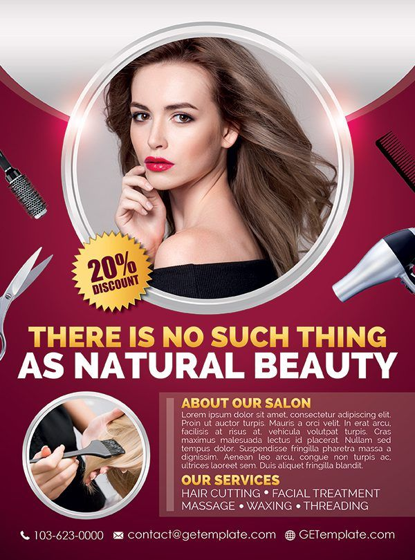 beauty and hair salon premium
