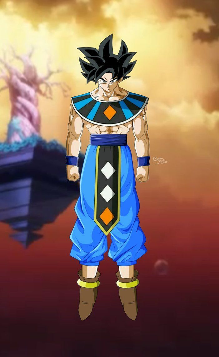 Goku God Of Destruction Limit Breaker Breno Italo Digital Art Dragon Ball Super Manga Anime Dragon Ball Super Dragon Ball Super Goku