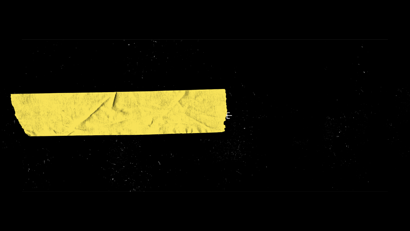 Black And Yellow Aesthetic Header