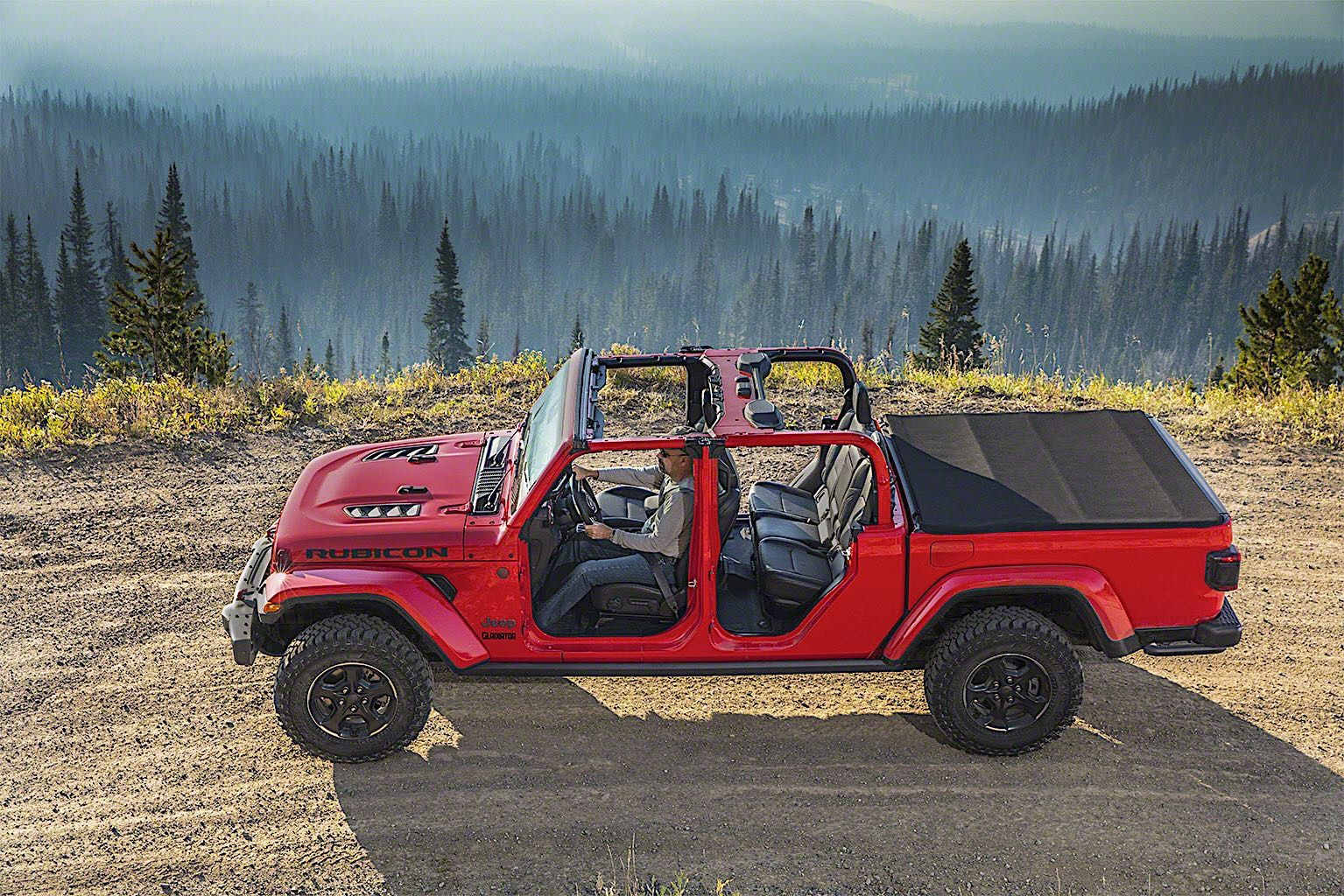 2020 Jeep Gladiator Pickup Truck The Only Open Air 4x4 Truck In
