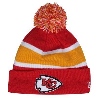 d90d5854383dd New Era Kansas City Chiefs 2013 On-Field Player Sideline Sport Knit Hat -  Red Gold