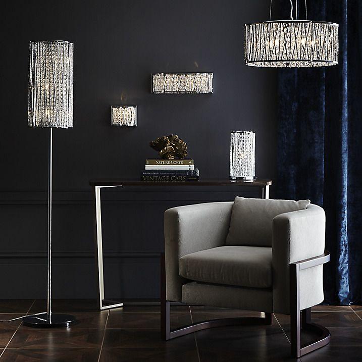 Emilia Crystal Drum Floor Lamp   John lewis, Lighting online and ...