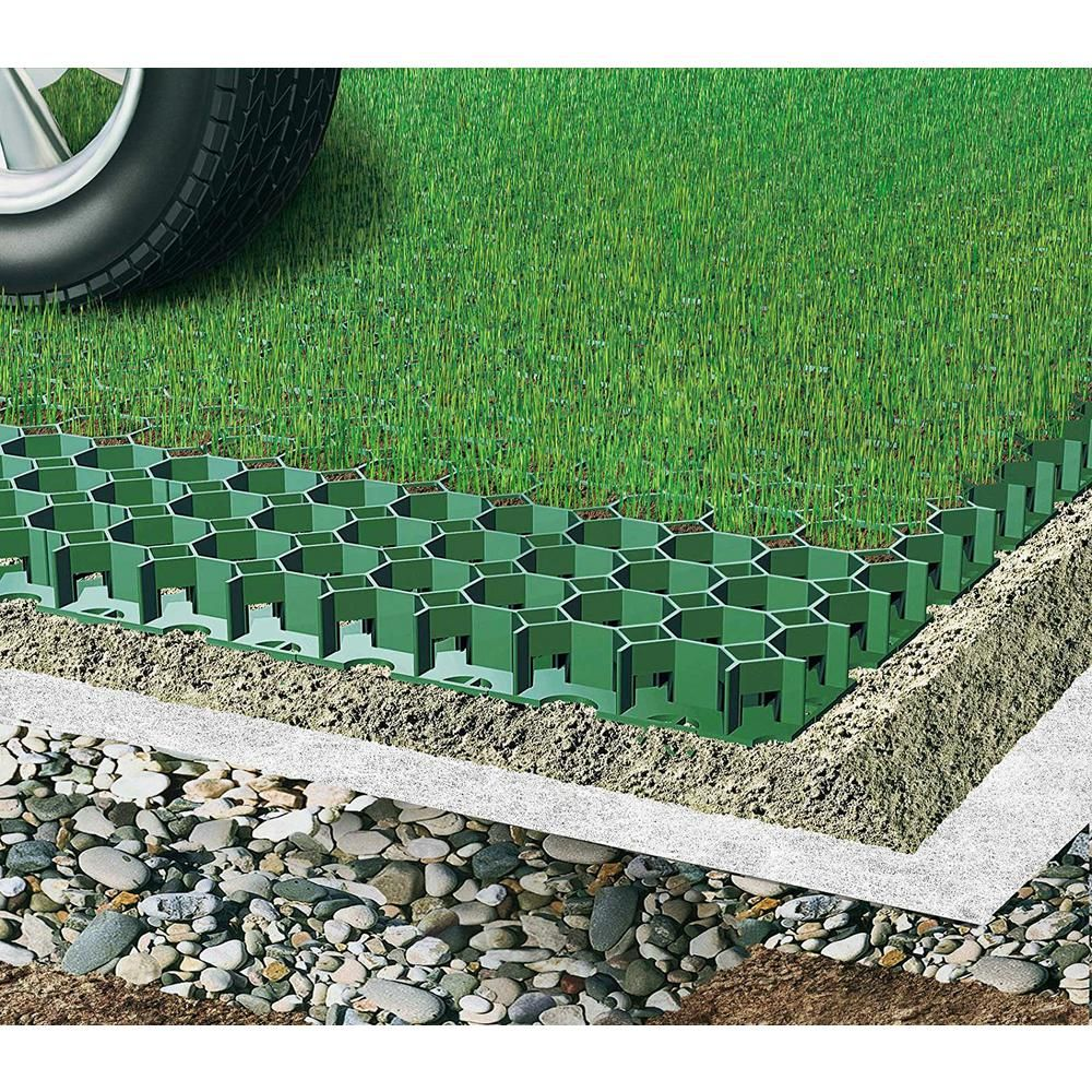 Techno Earth 19 7 in  x 19 7 in  x 1 9 in  Green Permeable