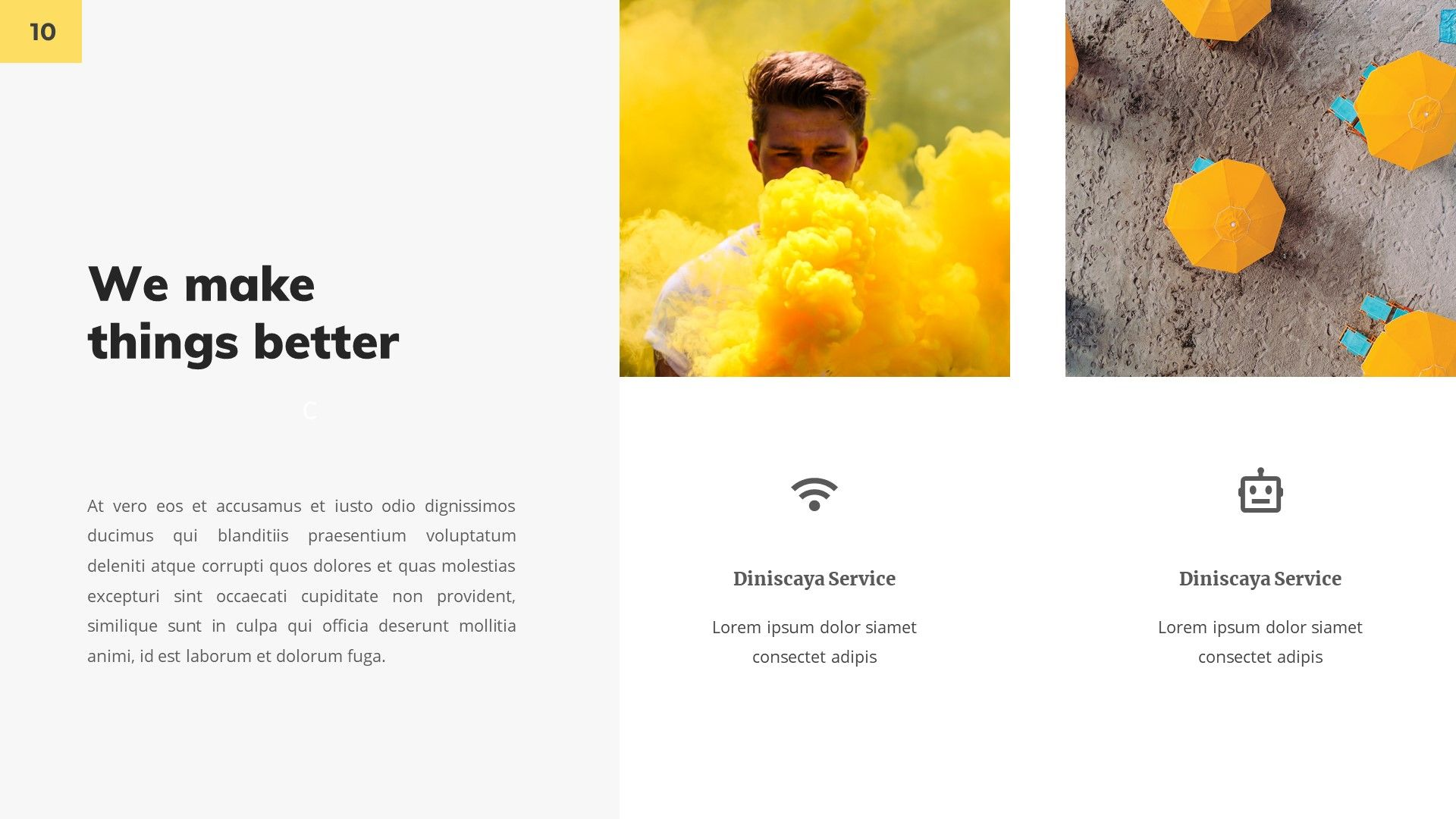 Diniscaya - Business Google Slides Template