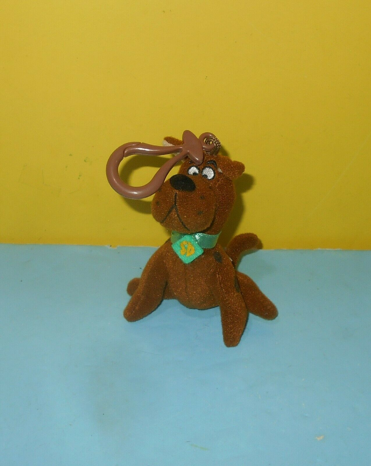 Cartoon Network Scooby Doo 3 5 Plush Back Pack Clip On