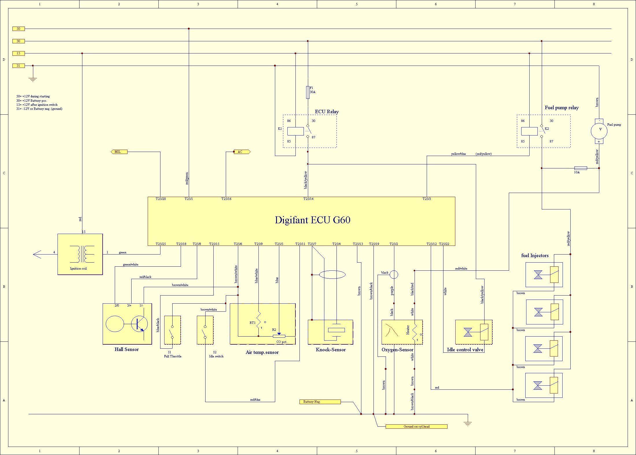 skoda felicia ignition switch wiring diagram [ 2200 x 1575 Pixel ]