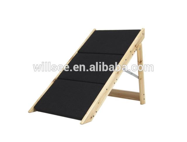 Ps 1016 pasos y escaleras escalera alfombra de madera - Escaleras para perros ...