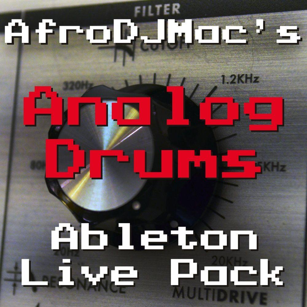 Analog drums ableton live pack ableton ableton live drums