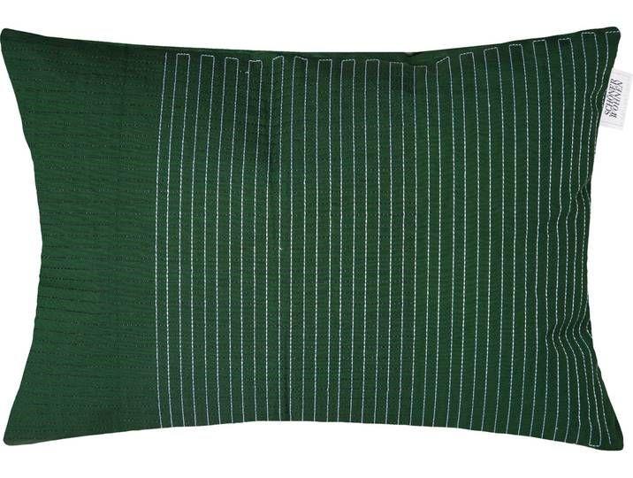 Schoner Wohnen Kollektion Kissenhulle Grafia 1x 58x38 Cm Grun In 2020 Throw Pillows Pillows Tapestry