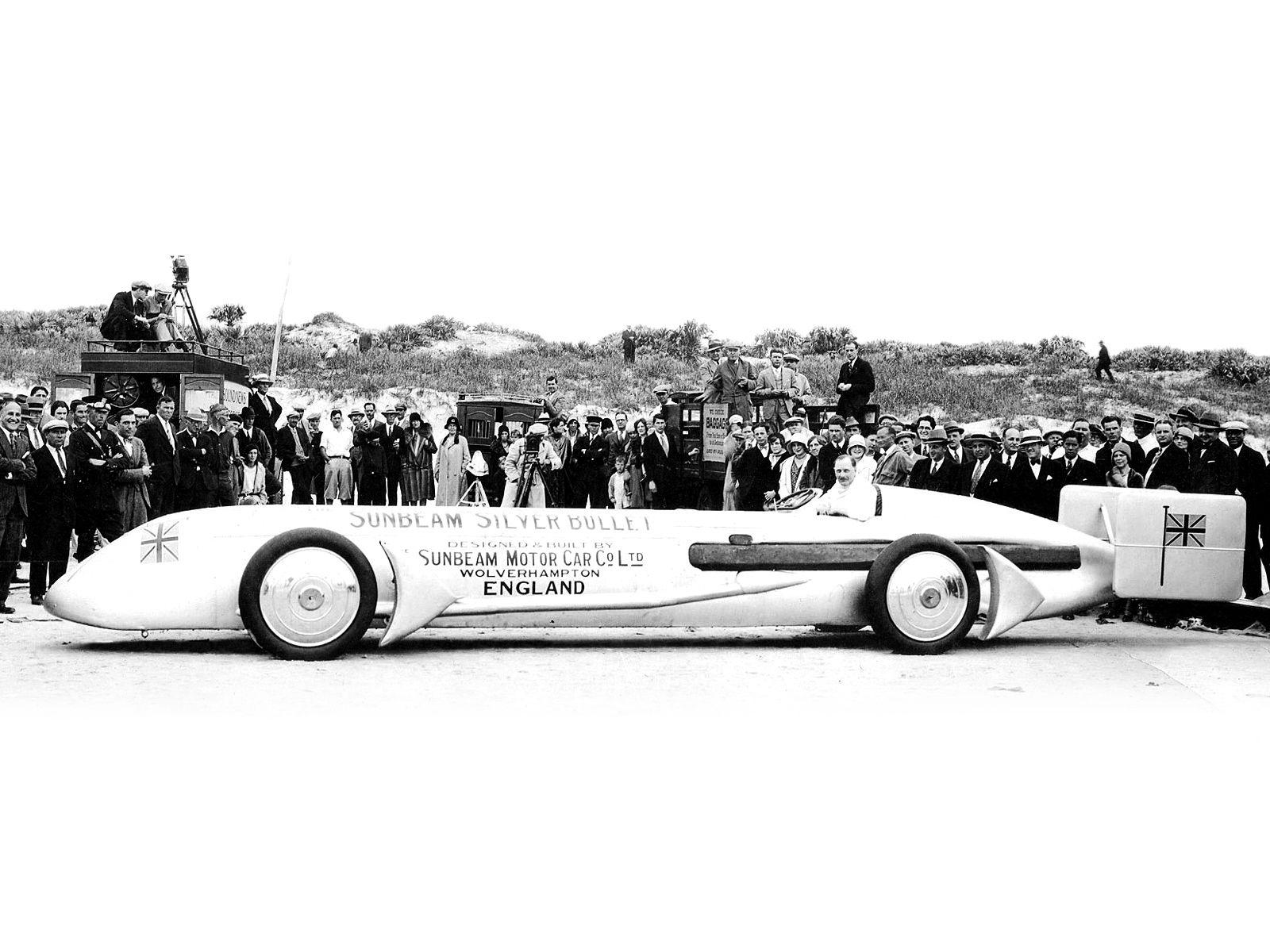 Silver Bullet Race Car