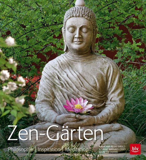 """Harmonie sehen und fühlen mit dem Bildband """"Zen-Gärten"""" (BLV Buchverlag) mit Fotos von Evi Pelzer."""