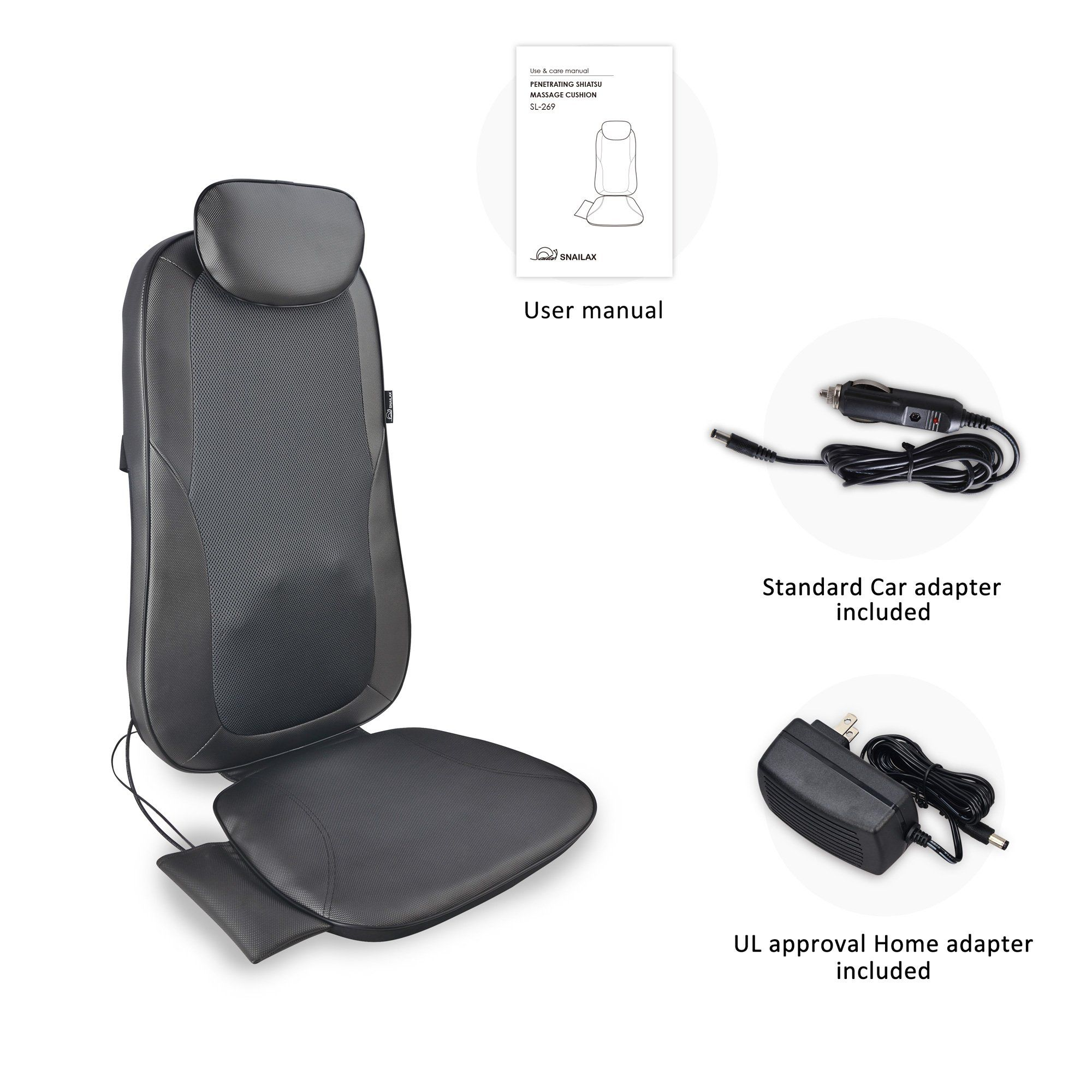 Shiatsu Back Massage seat Cushion with Heat 2D or 3D Finger Pressure Shiatsu Full Back Massager Massage Chair Pad for Home Office Use * Be sure to check out ...  sc 1 st  Pinterest & Shiatsu Back Massage seat Cushion with Heat 2D or 3D Finger Pressure ...