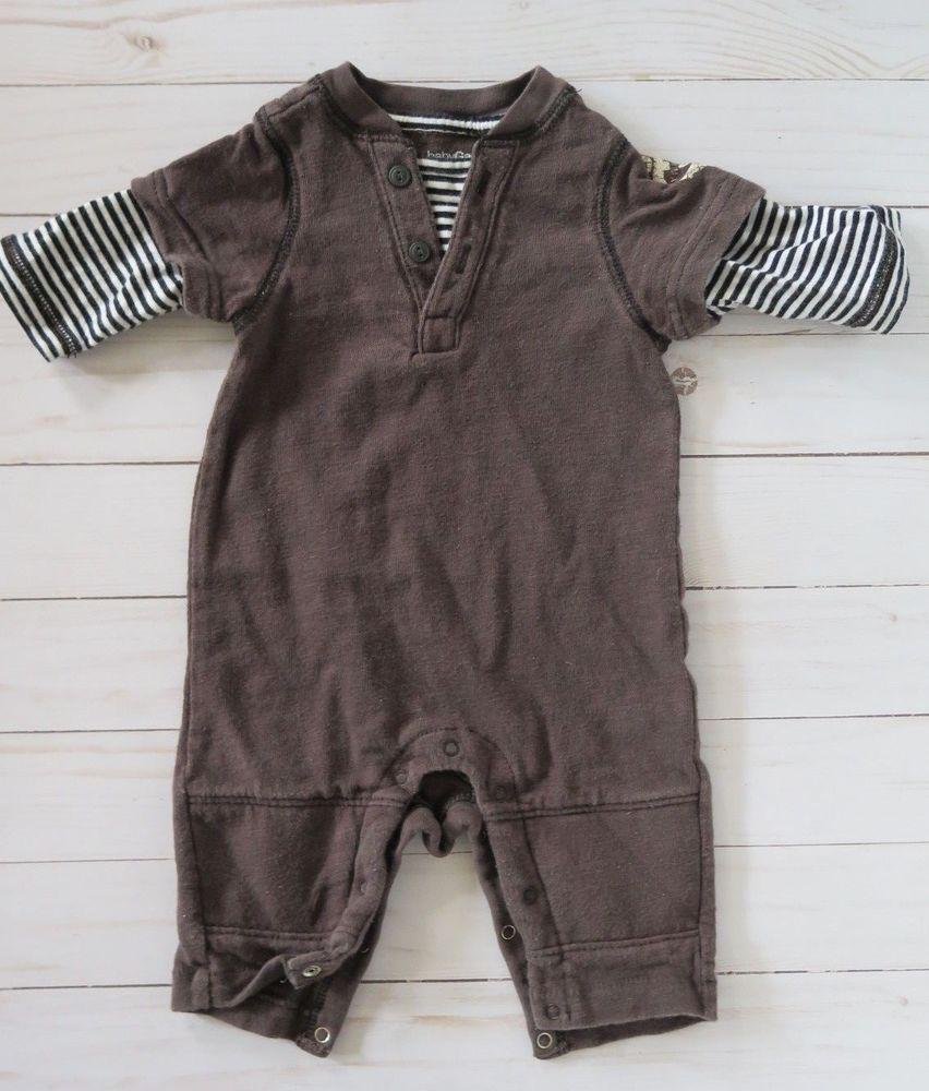 d1bc27c2125c Baby Gap Boys Romper Sz. 0-3 Months  fashion  clothing  shoes ...