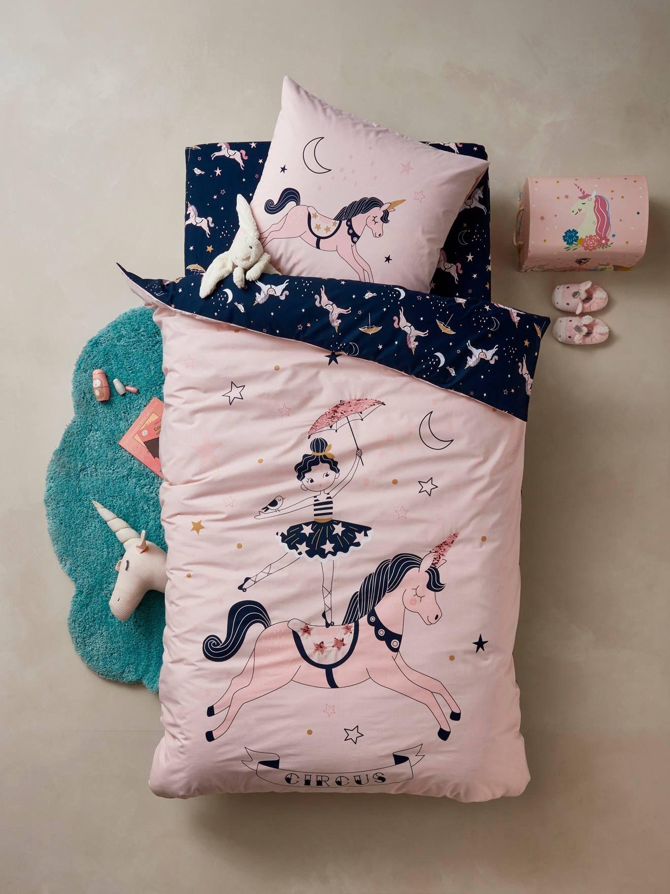 Magische Einhorn Bettwäsche Für Kinder Von Vertbaudet Entdeck