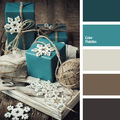 Beige Blue And Green Color Chocolate Scheme Dark Brown Emerald New Year Colors Selection Of Shades