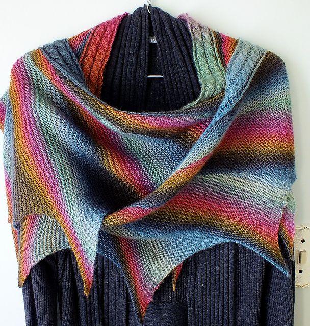 Wingspan pattern by maylin Tri\'Coterie Designs | Ravelry, Patterns ...