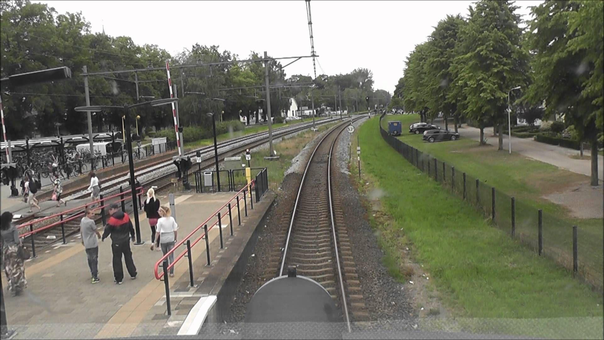 Meerijden met de machinist van Zutphen naar Zwolle.
