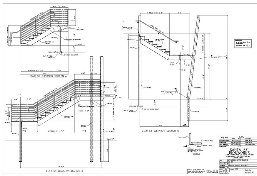 Steel Stair Details #stairs Pinned by www.modlar.com
