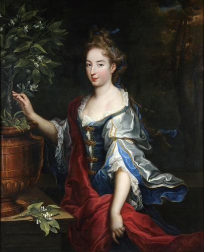 """Portrait of a Lady"" by Nicolas Fiuche (1690s)"