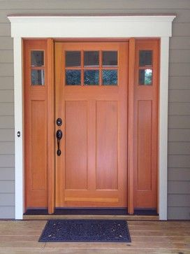 Craftsman Style Door Design Ideas, Pictures, Remodel and Decor