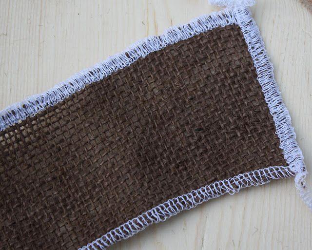 Working With Burlap Burlap Washing Burlap Sewing Hacks