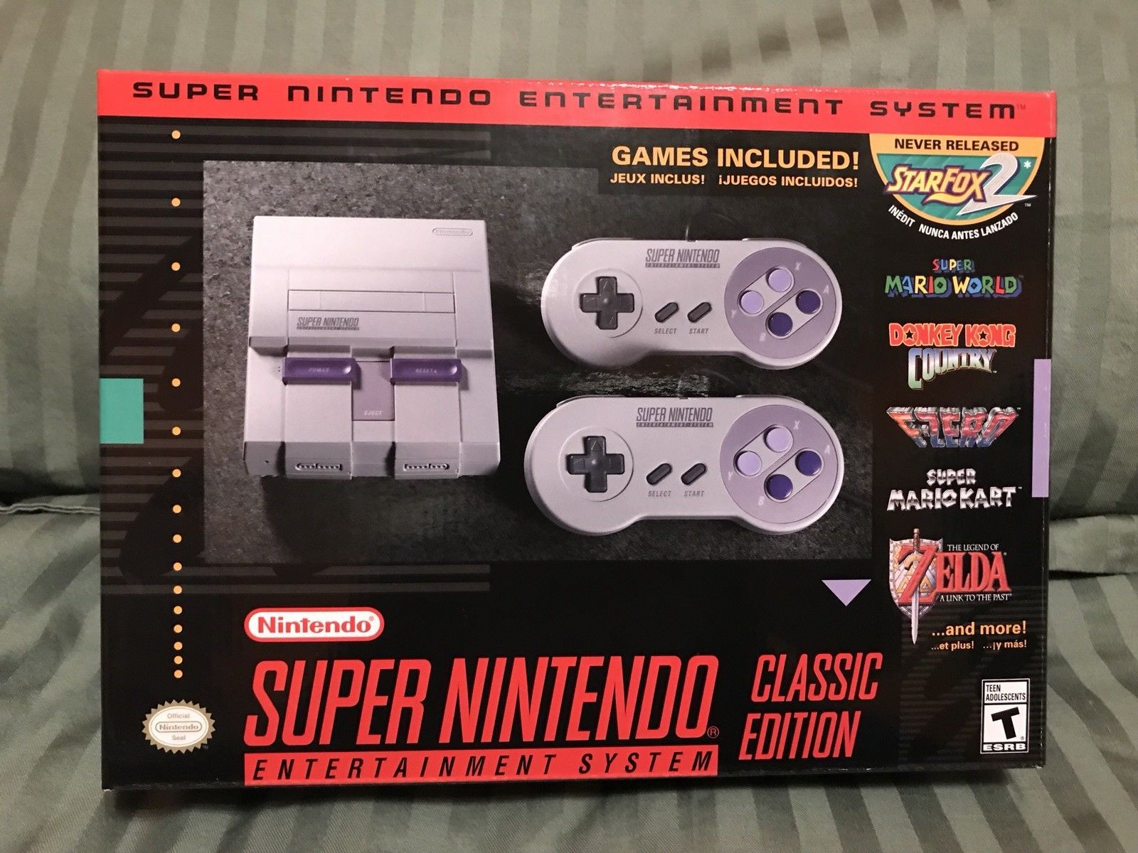 Super Nintendo Entertainment System Super Nes Classic Edition