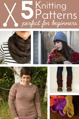 Photo of 5 Knitting Patterns Perfect for Beginners