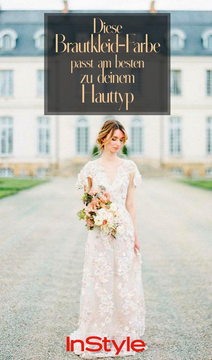 Say yes! Diese Brautkleid-Farbe passt am besten zu deinem Hauttyp!