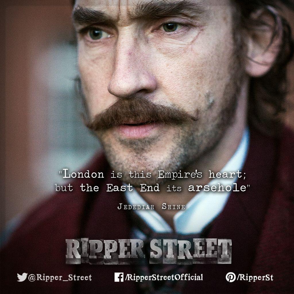Detective Inspector Jedediah Shine Ripper Street In 2019