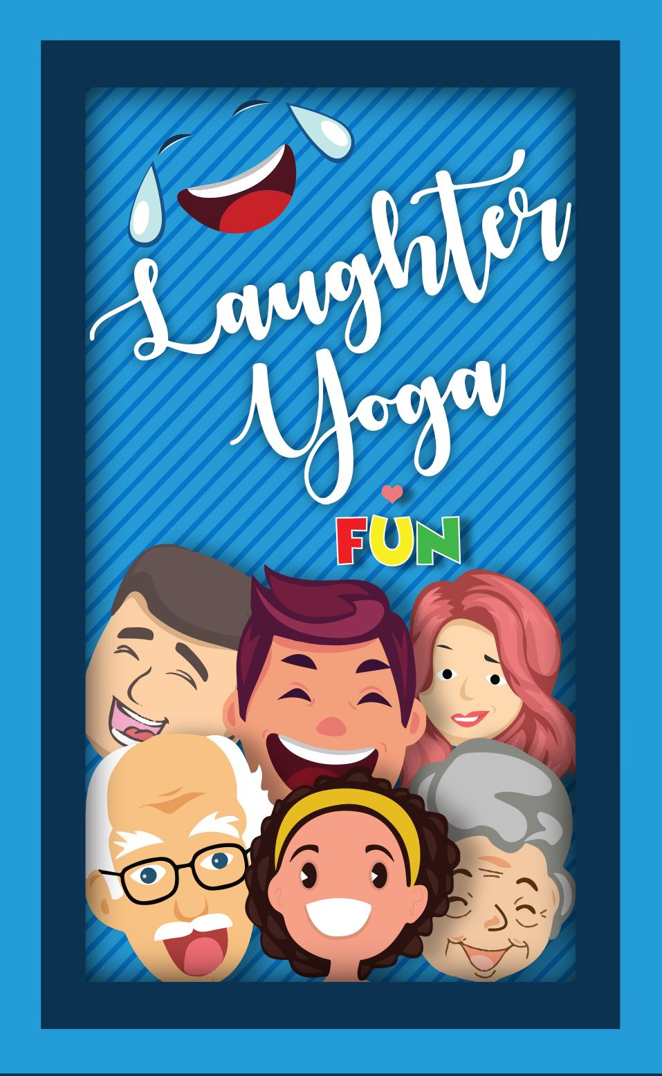 Laughter Yoga Fun Exercise Cards Laughter Yoga Card Workout Fun Workouts
