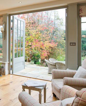 Terrassentür Öffnung nach Außen Haus Türen und Fenster Pinterest