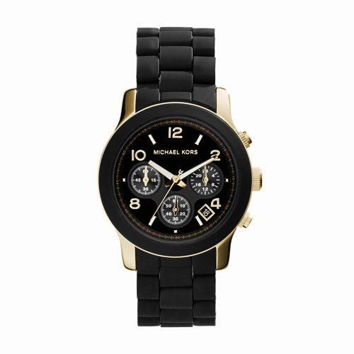 6b33a4eaa3c6 Women Watches - Michael Kors Womens Runway Black Watch MK5191    Details  can be found by clicking on the image. (This is an Amazon affiliate link)