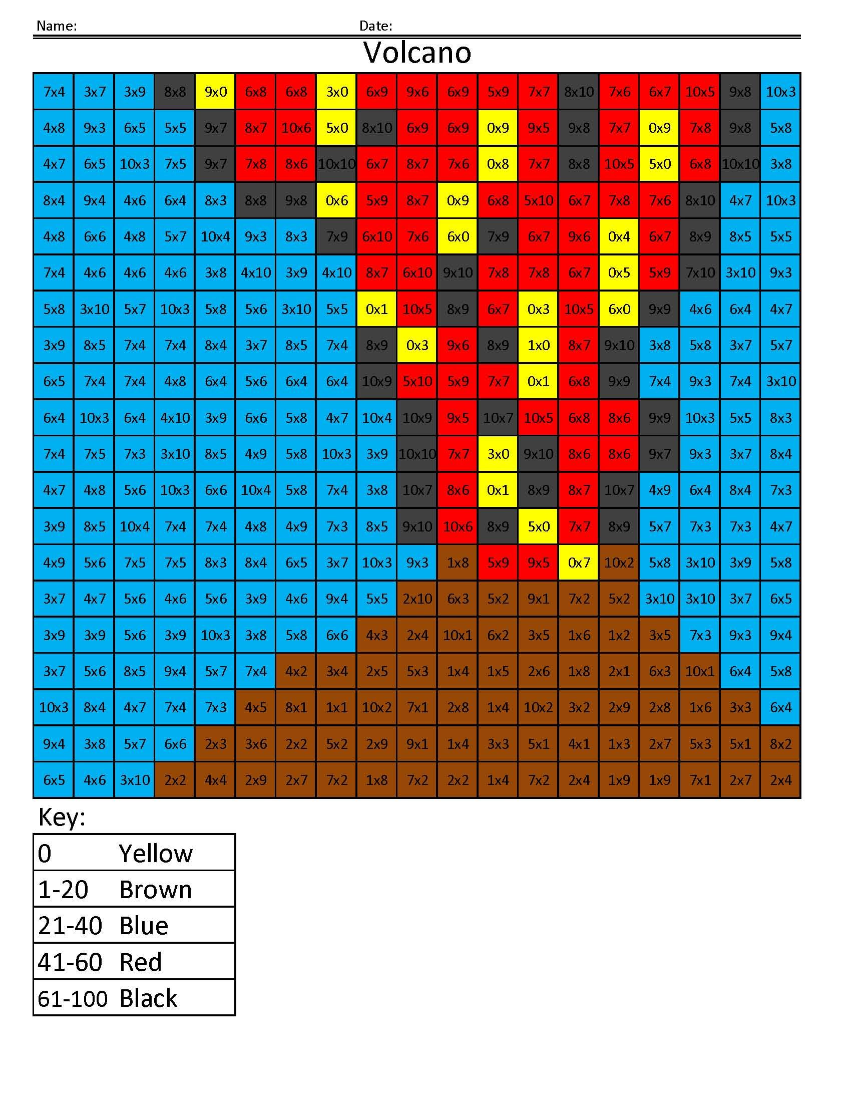 Free Coloring Pages- Pixel art coloring book- Math for Kids | To Do ...