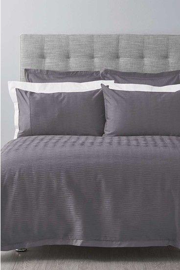 Simply Vera Dalton Textured Quilt Cover Set Qb
